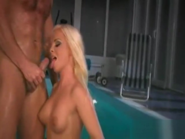 Sharka Blue. . . Pretty Poolside Pussy Pounding!