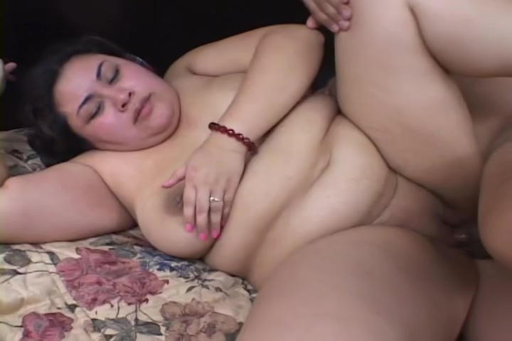 Horny, Exotic BBW Gets Banged In Threeway.
