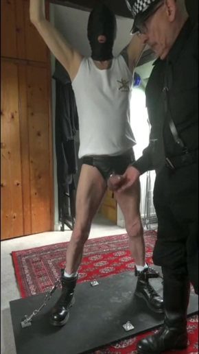 Chief Inspector McThuggee Enjoys Himself naked busty lebanese girls