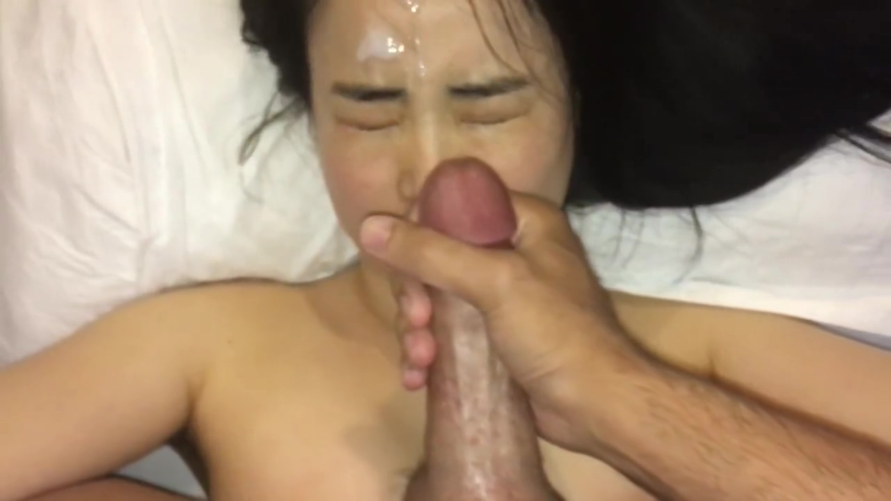 cute asian girl loves cum on her face so much Free virgin sex positions