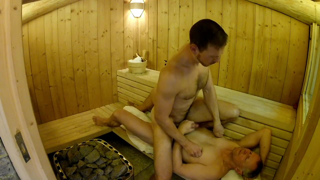 British Daddy Boy Homemade Amateur Sauna Fuck Bareback Son fucks his mom hard