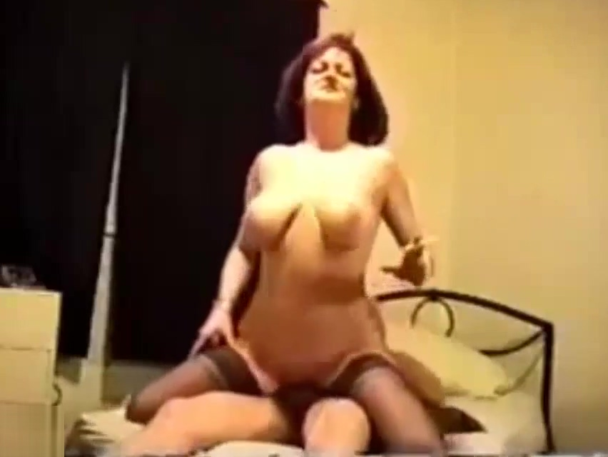 Classic mom and son sex legs in high heels