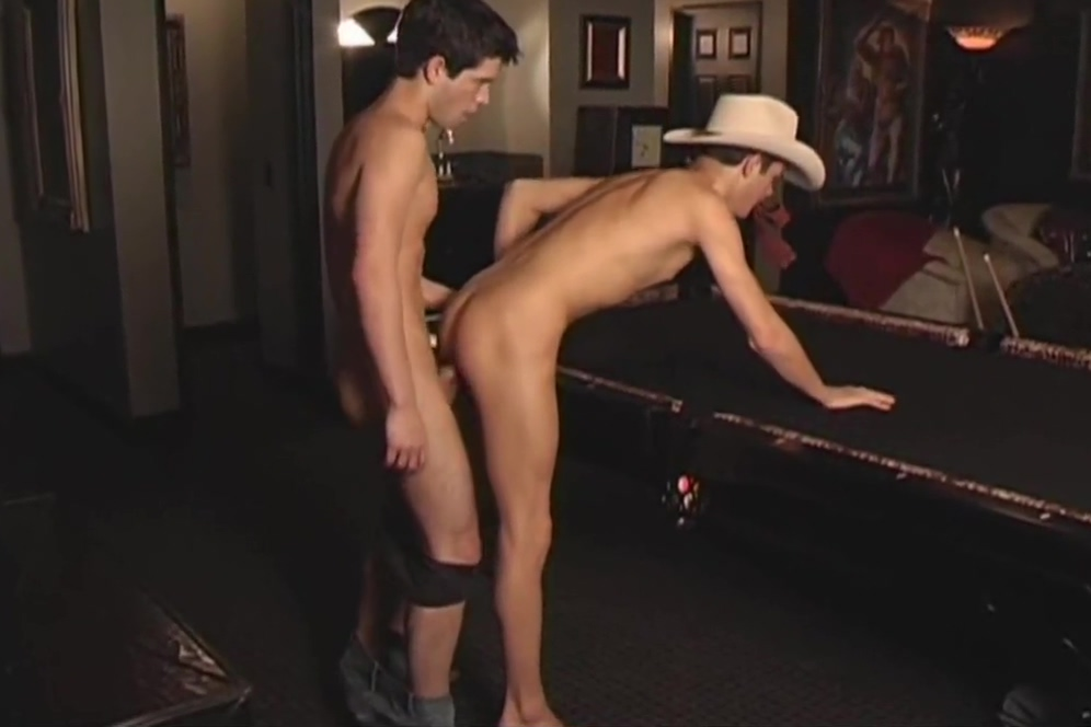 Hot Young Hunks Bareback While a Third Watches Wife fucks dildo on our bed