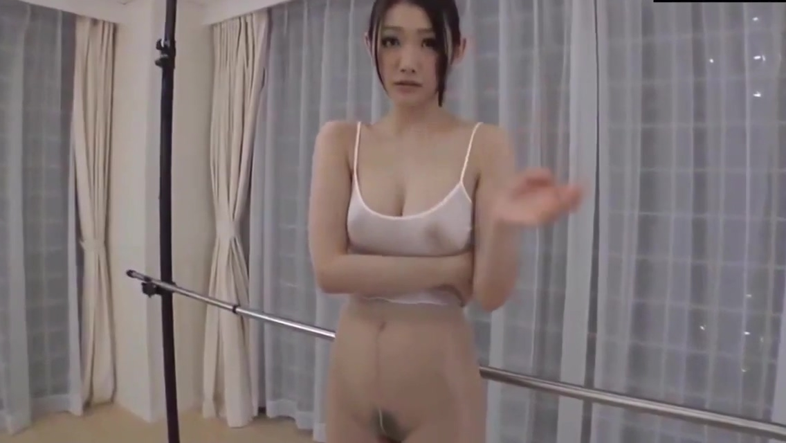 Asian ballet dancer with big boobs getting her wet pussy plowed - part 4