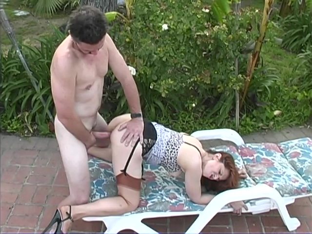 Naughty mother pounded outdoor by her son Hot rough couple sex gif