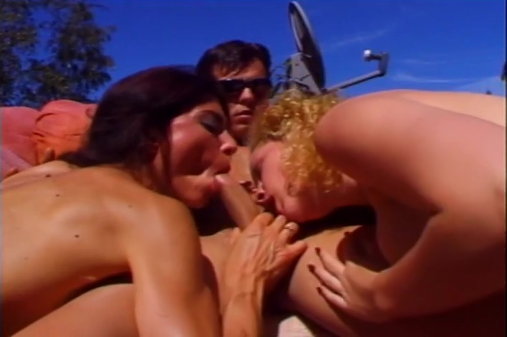 Rebecca Lord And Bobbie Barrington Both Suck And Lick A Cock
