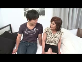 KOP52 Reiko Takami, Miyuki Takasugi Naked old woman strippers