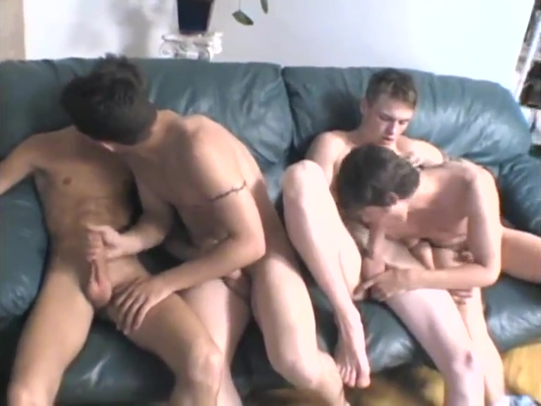 Threesome jerking and sucking Nude guy sweet dreams