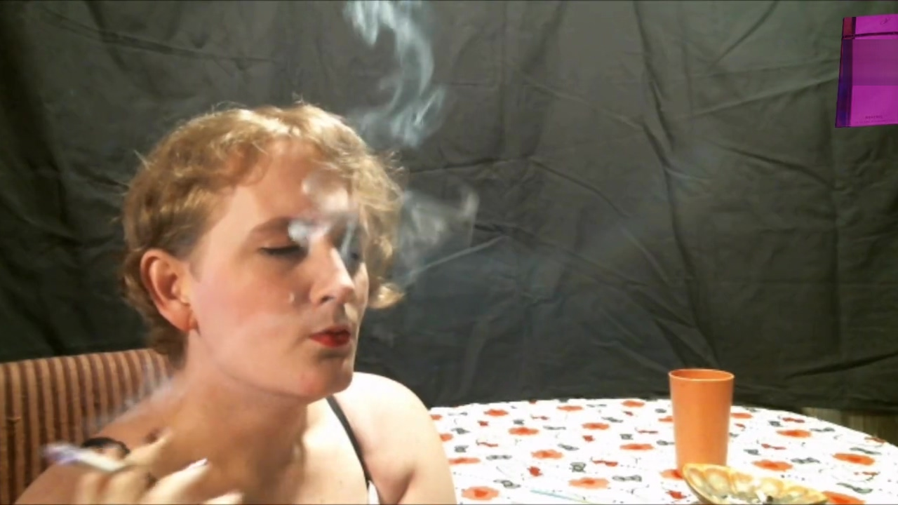 Sophie Chain Smoking Her Virginia Slims 120s i know that girl nude girls