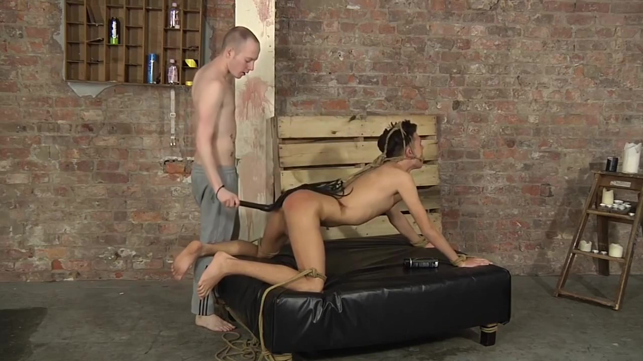 BDSM cute young boy tied with rope gag pt. 1 50 yo wife posing nude