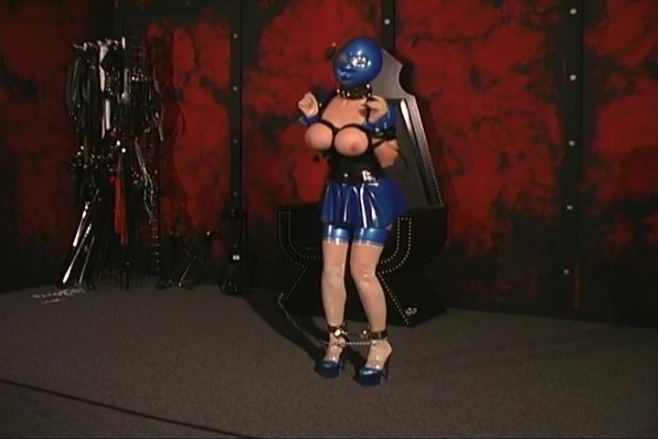 Blue Blinded Brunette Gets Punishment Hot girls taking naked bent over self pic