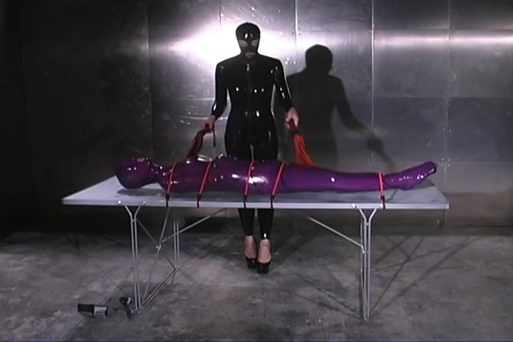 Mistress Latex Wraps Sasha Monet From Head To Toe Persia monir squirting