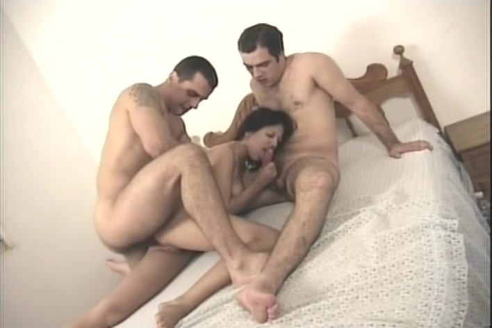 Milla Moore Takes On Two Guys Huge Facial