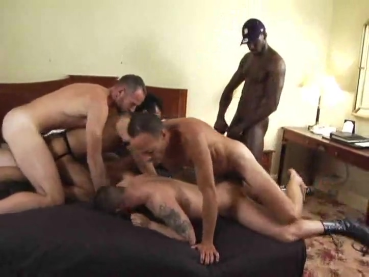 Orgy includes double anal Amateur mutual masterbation