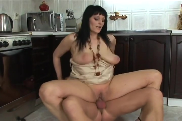 Merlilyn Loves Hot Sex In The Kitchen With A Big Dick