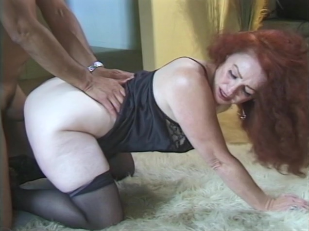 Beautiful grandmother gets her ass stretched by grandson Lisa karups