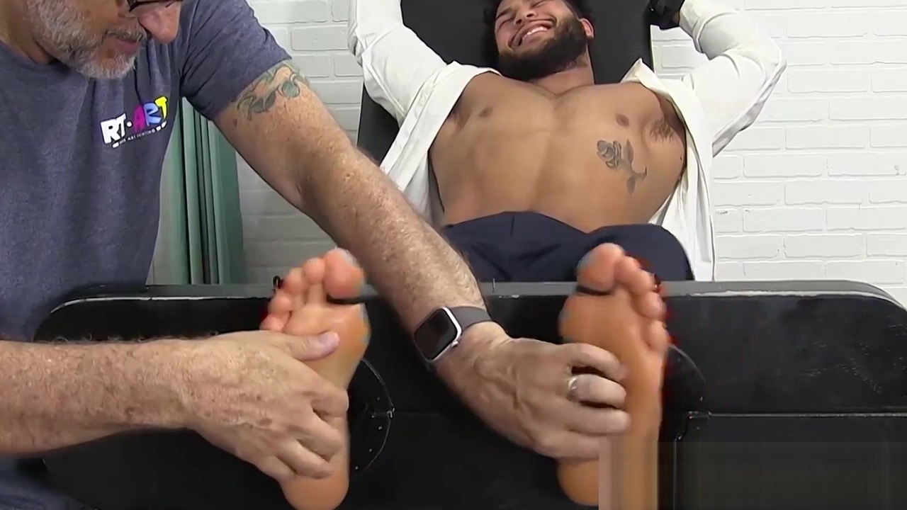 Latino gentleman hunk tied up and tickle tormented by dom How to please your wife sexually