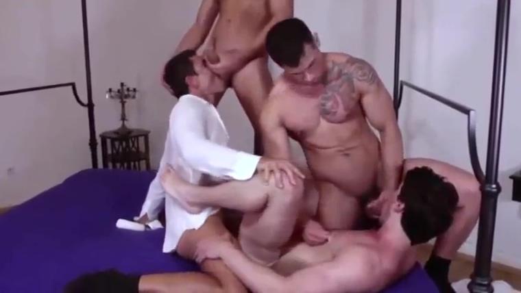 hot orgy four men Halo movie asshole
