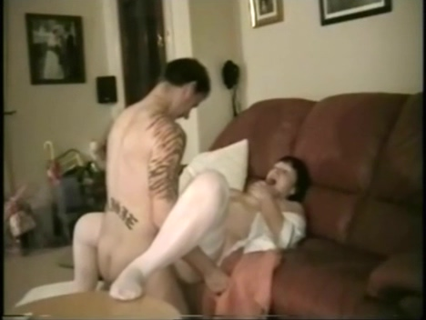 Anal Sex with real nurse see cock slide in ass hole and cum collection tonya harding homage