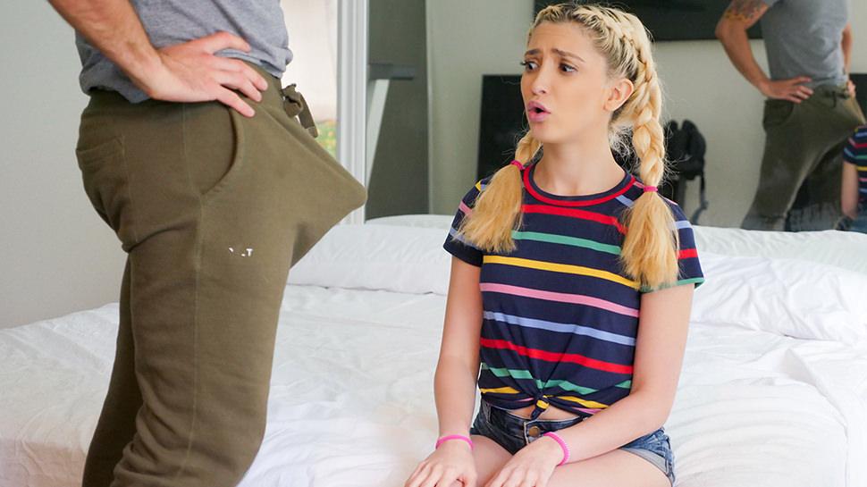 Jane Wilde in Horny Stepdaughter Spots Stepdads Big Dick - SpyFam