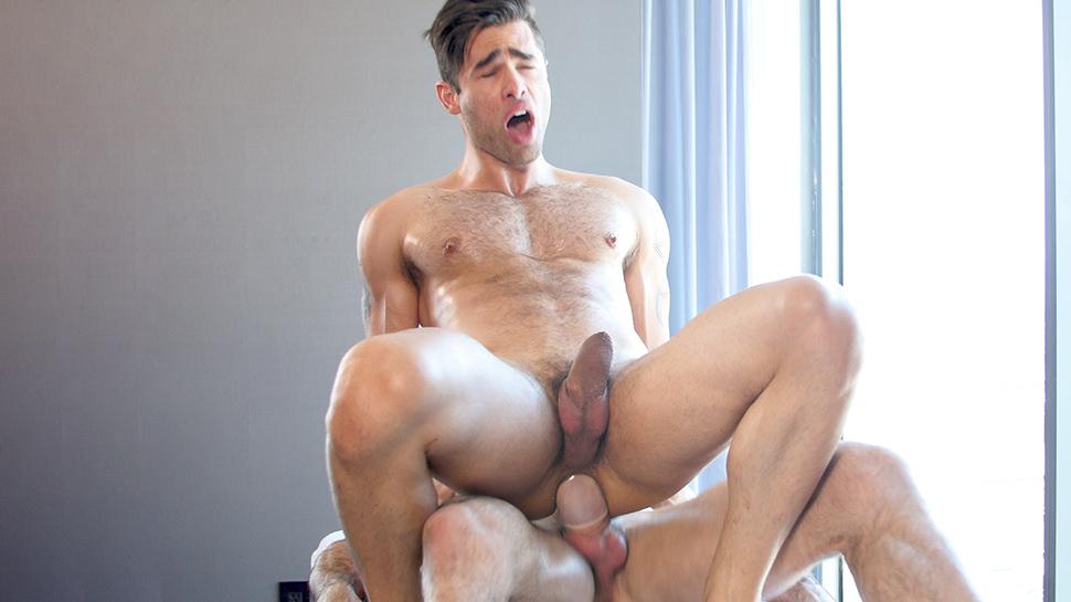Billy Santoro & Lucan Leon in Lucan Leon - GayRoom wet t shirt naked