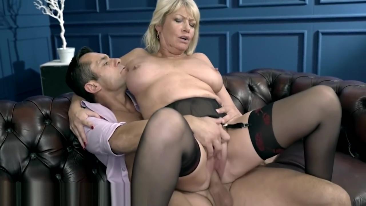 LustyGrandmas Curvy GILF Passionately Licks & Fucks Dick www masalawoods sex com