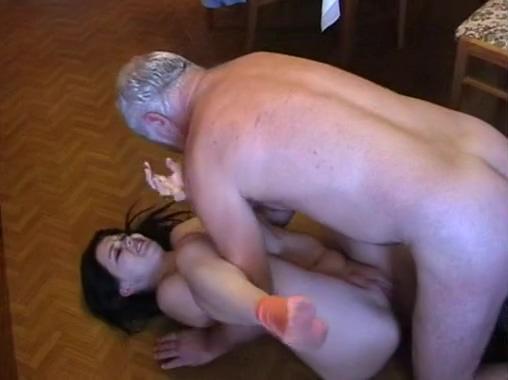 0029-GS-Creaker hard fucks young maid-Teen girl 12 gauge buckshot wall penetration