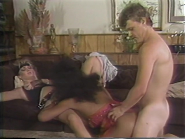 Tranny joins in a wild casual group sex session Femdom milf red and pal make guy cum