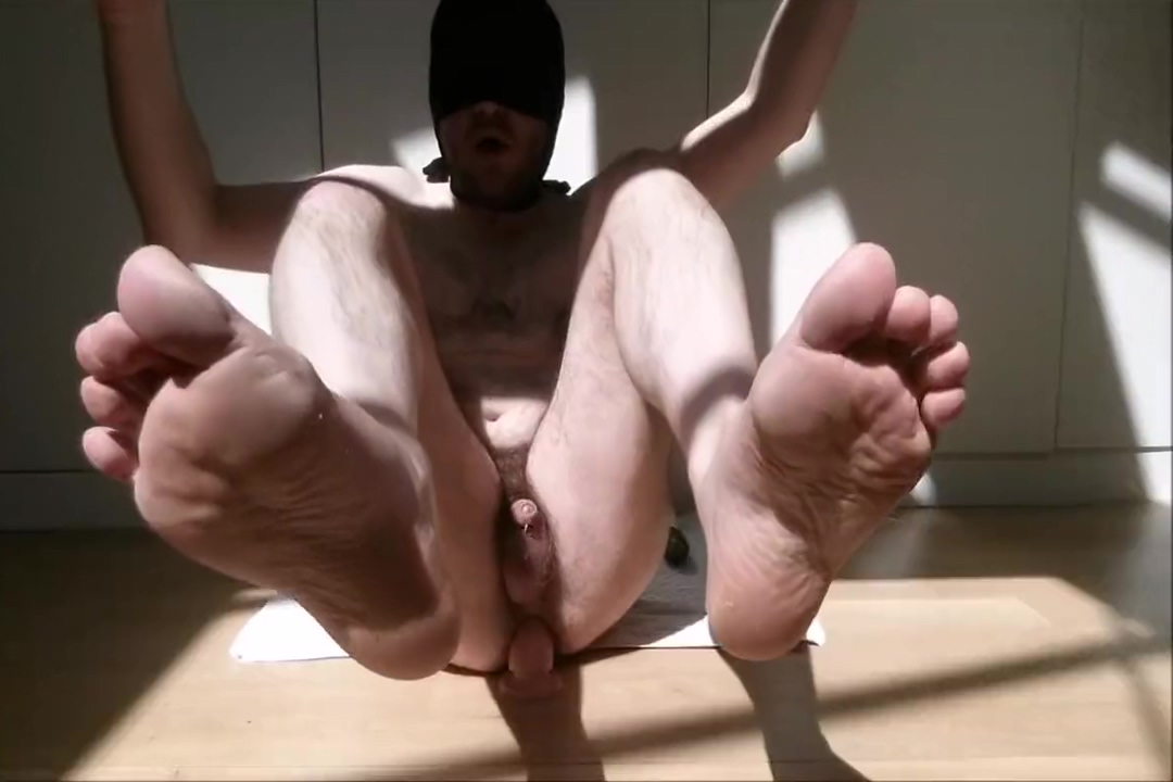 The Big Anal Challenge for straight guy: wood, glass, metal, skin, zucchini Very Sexy Angry