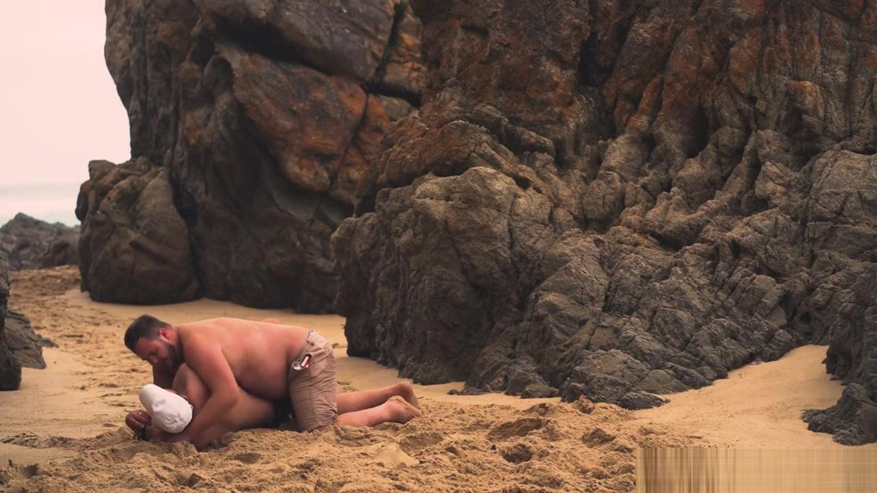 Men Wrestling On The Beach Clip Korean Porn
