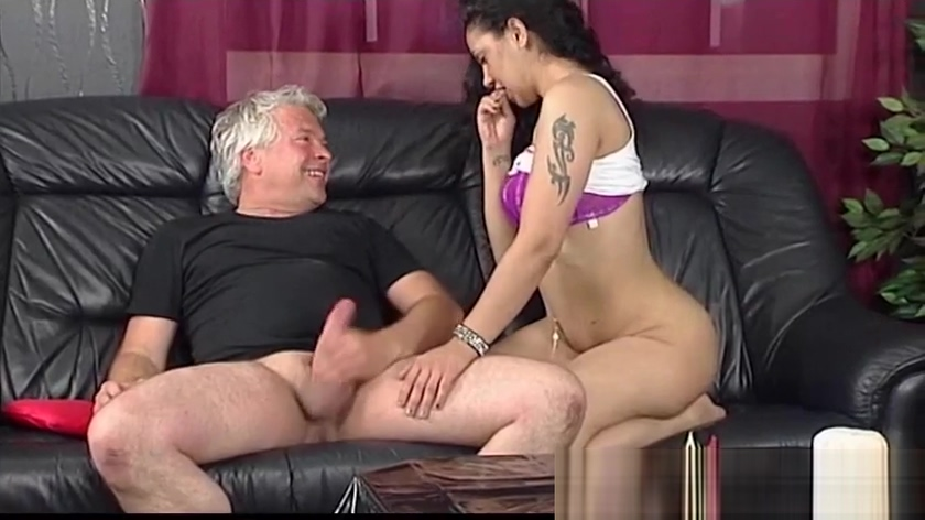 Dirty Old Man Gets Lucky With Some Young Pussy