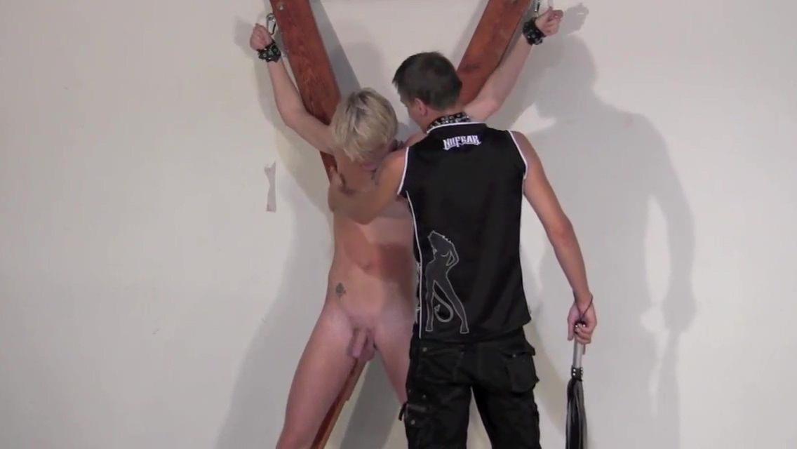 Blonde twink BDSM part 1 sensation of high fever and pain but no fever