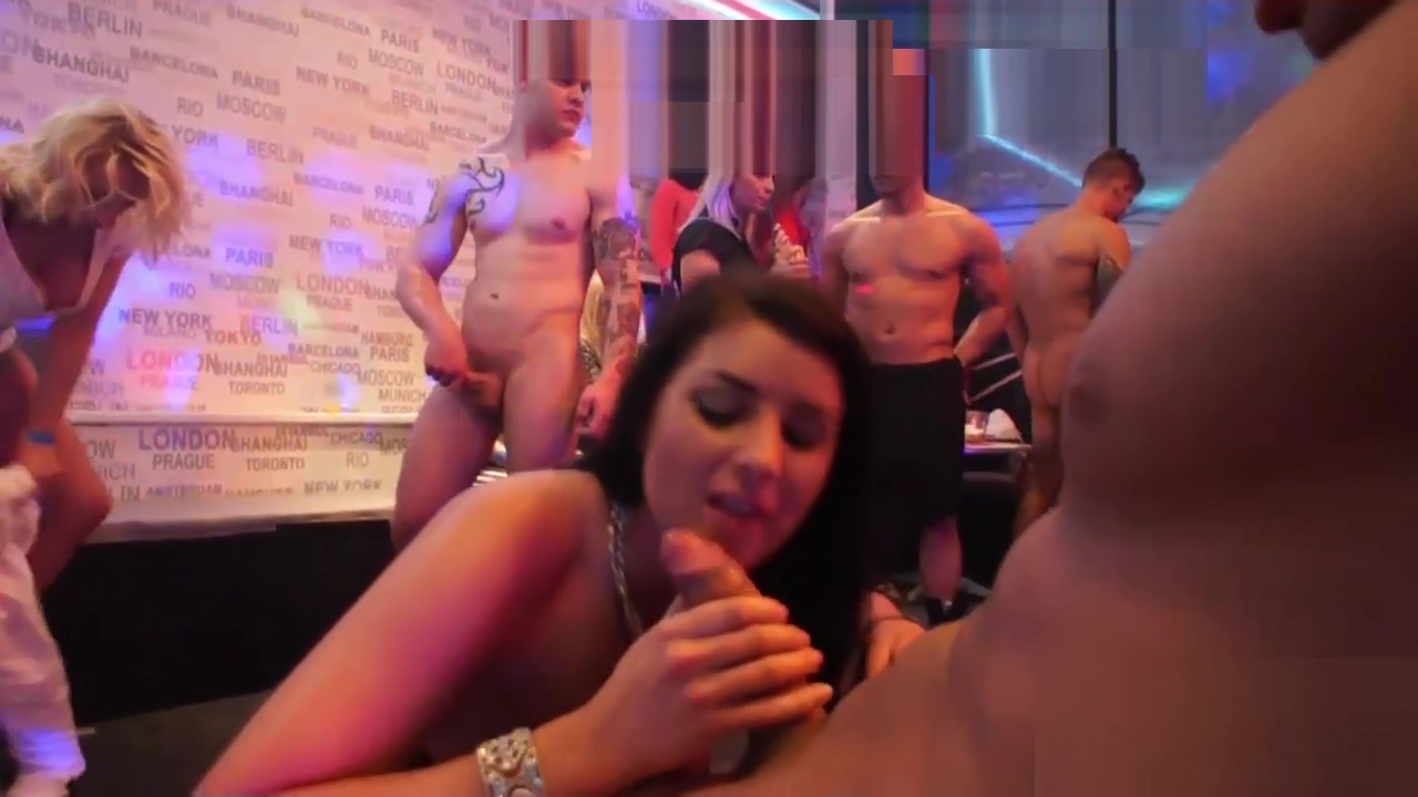 Sexy babes get nailed in an orgy
