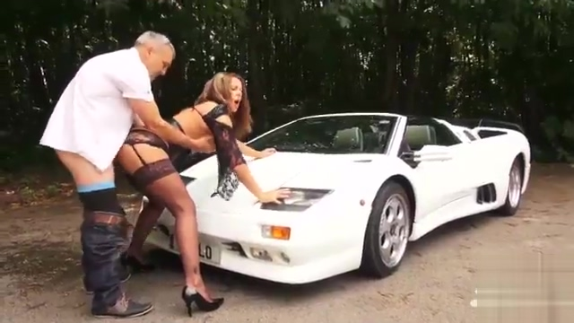 She Works It All Over That Car Before Taking A Dick Turbo egg vibrator