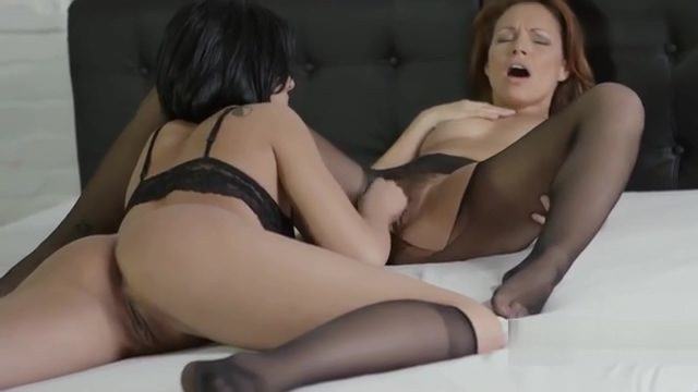 Silvia and Coco nailing cunt with vegetables Massive dick blowjob