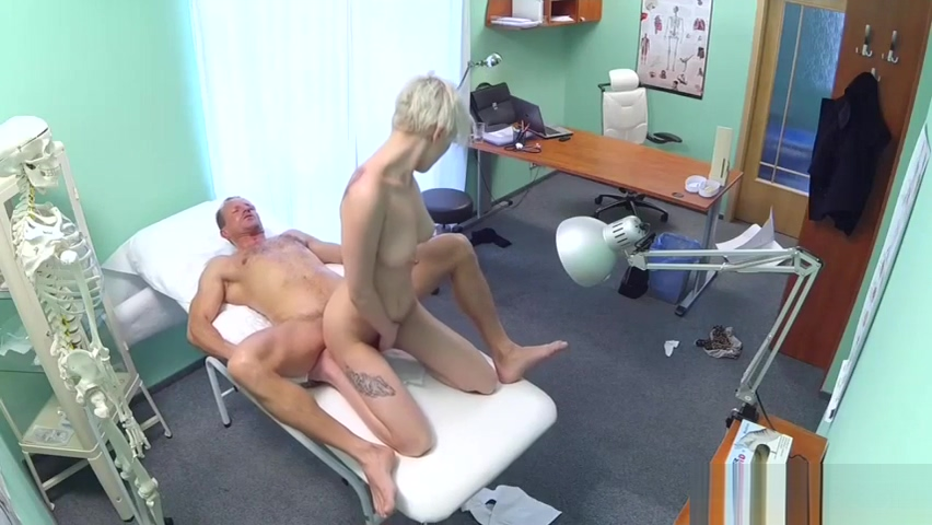 Horny doctor stalks his prey Chubby spanking video