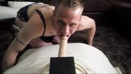 Hot Blonde Cock Whore Crossdresser Love Taking Dick 2 Best blowjobs in La Cruz