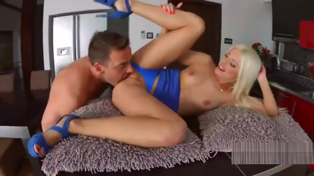 Jessie Volt plugs her ass and eats huge dick Busty mature fucked hard