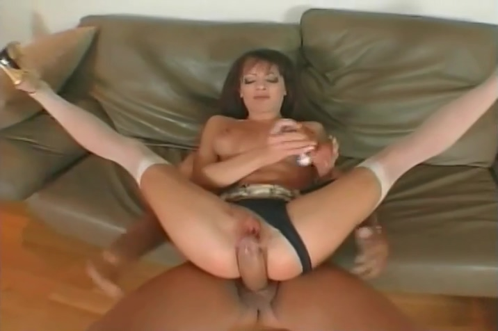It takes no time for her to hop on his cock.