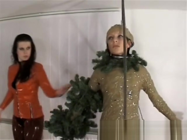 Christmas plastic tree Crazy sex positions gif