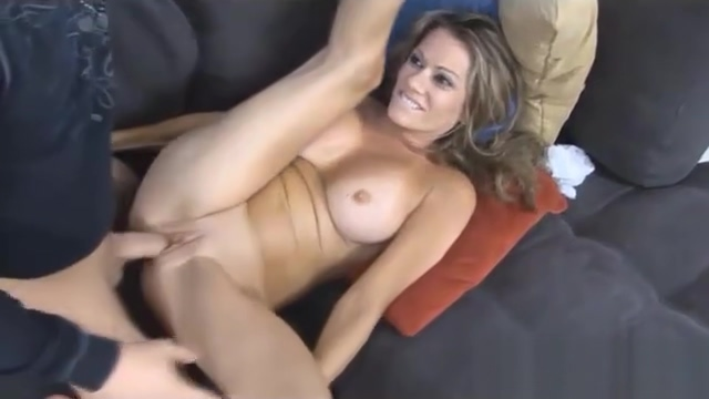 MILF surprised by neighbor and fucked hard