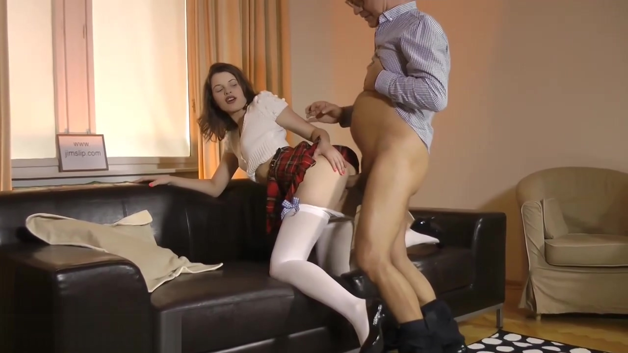 Teen amateur takes cock