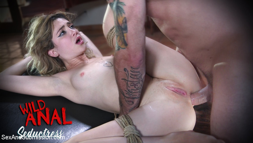 Bondage Legend Casey Calvert Tied Hard and Fucked Harder by Huge Cock - SexAndSubmission Sensuous female bondage