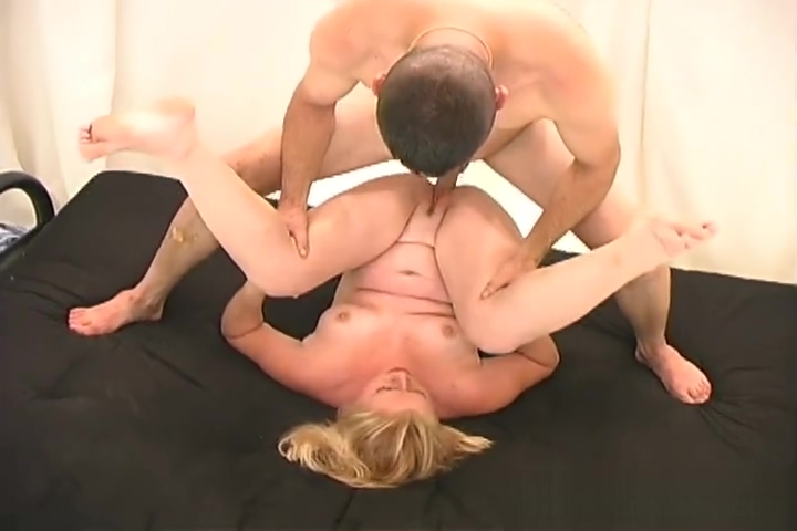 Tiny & Curvy Blonde Babe Gets Fucked By Two Guys.