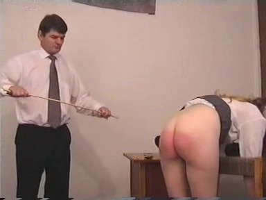 Caned strapped then caned again hot women get fucked