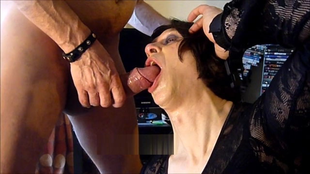 Cum glazed - in Slow Motion aged mature sex tube