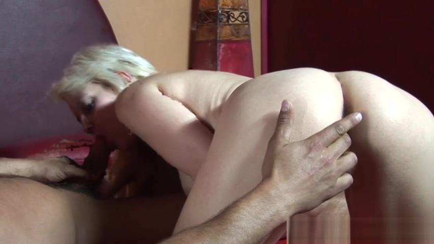 blonde with small tits gets fucked