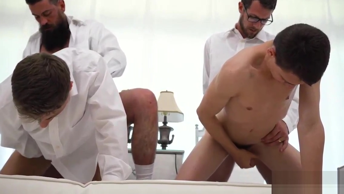 Dad and twinks orgy Perfect ass and tits redhead fucked and jizzed