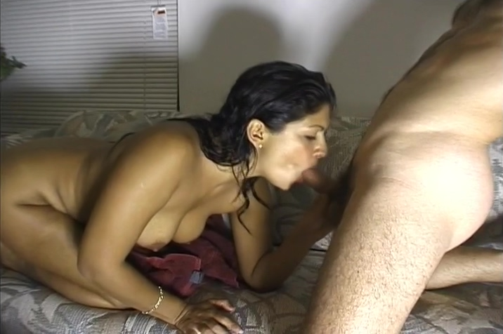 Fantastic Bodied Brown Skin Woman Sucks A White Guys Dong Worlds biggest dildo in pussy