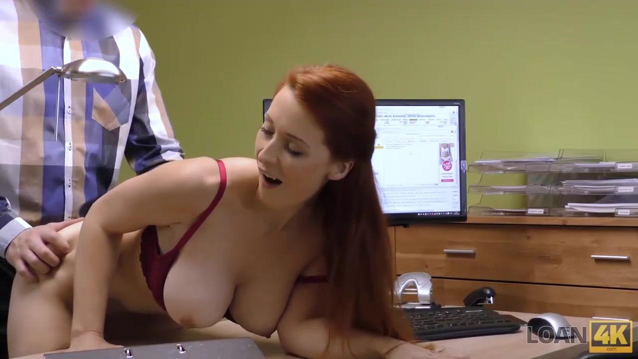 LOAN4K. Agent ist bereit, nach dem Ficken vollbusige Hottie Kredit zu geben cum on my large breasts